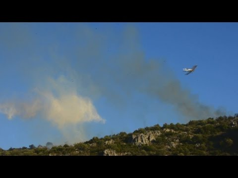 Πυρκαγιά στην Προσύμνη Αργολίδας