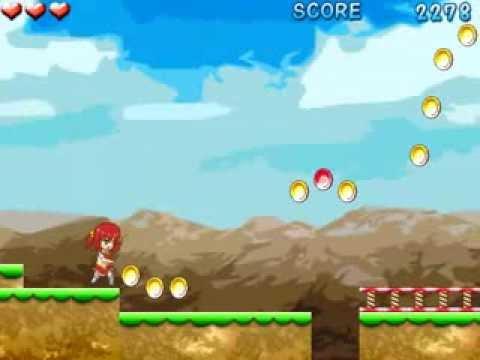 Video of リンゴさんのジャンプアクション