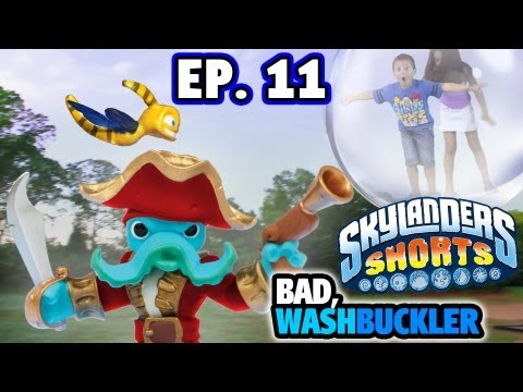 Wash Buckler Traps Kids in Bubble - Ep.11 (Skylander Shorts)