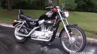 10. Used 2000 Harley Davidson Sportster 883 Custom  Motorcycles for sale.