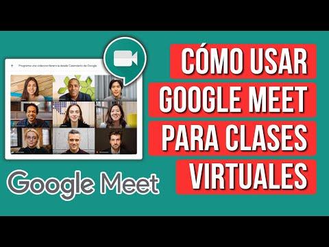 Como Usar Google Meet para Dar Clases Virtuales