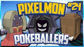 """Snowstorm City (Ice) Gym"" Pixelmon Server Pokeballers Adventure Season 2 Episode 24"