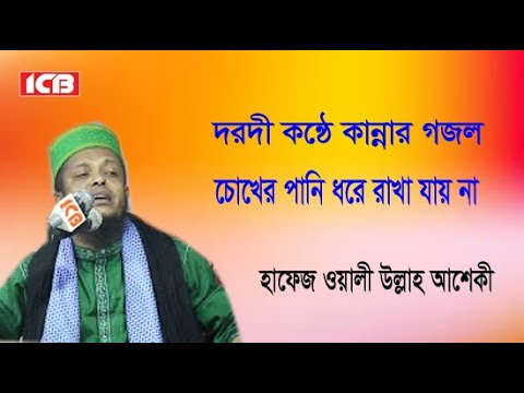 New Bangla Gazal  | Waliullah Asheki Gojol | অলি উল্লাহ আশেকী গজল | ICB Digital