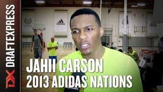 Jahii Carson - 2013 adidas Nations - Interview