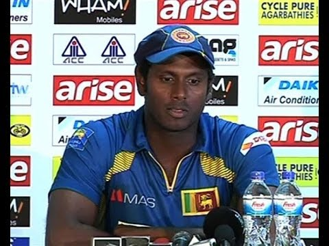 Dammika Prasad on Test debut 2008