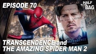 Video Half in the Bag Episode 70: Transcendence and The Amazing Spider-Man 2 MP3, 3GP, MP4, WEBM, AVI, FLV Mei 2018