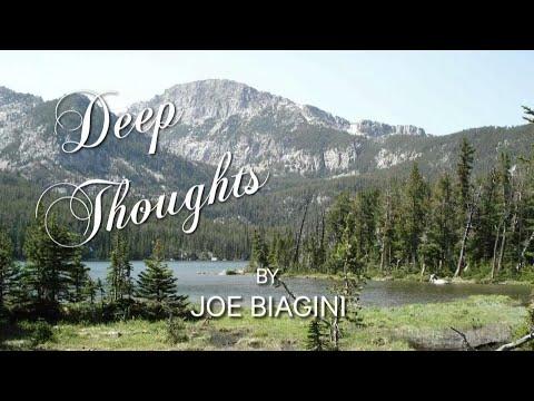 Video: Deep Thoughts by Joe Biagini: Birds