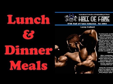 Lunch & Dinner Meals – Bodybuilding Tips To Get Big