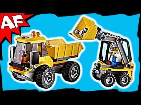 Lego city 4201 pas cher le camion benne - Camion de police lego city ...