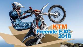 4. Déballage et test de la nouvelle KTM Freeride E-XC 2018 NG