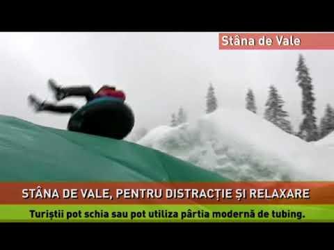 Sporturi de iarnă, distracție și relaxare, la Stâna de Vale