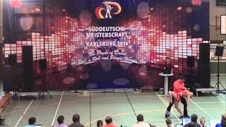 Ayline Spielmann & Philipp Sauter - Süddeutsche Meisterschaft 2014