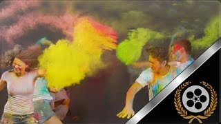 Holi    Slow Motion    Positive Video    2014    Hd