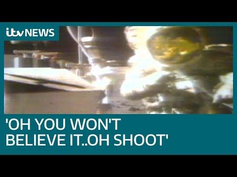 The last man on the Moon's panic revealed | ITV News