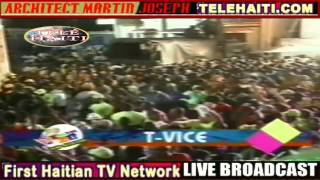 T-Vice  Carnaval 2013  En Direct  Cap Haitien   2-13-2013