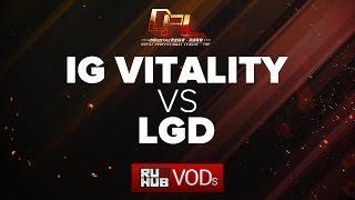 iG Vitality vs LGD, DPL Season 2 - Finals, game 1 [Mila, Inmate]
