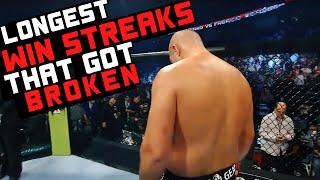 Video Longest Win Streaks That Got Broken In MMA MP3, 3GP, MP4, WEBM, AVI, FLV Desember 2018