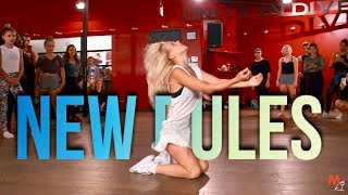 Video DUA LIPA - NEW RULES | Choreography by @NikaKljun download in MP3, 3GP, MP4, WEBM, AVI, FLV January 2017