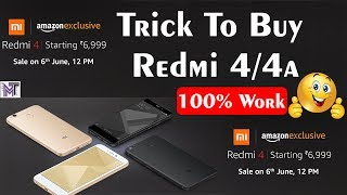 Trick To Buy Redmi 4 From Amazon  How To Buy Redmi 4 In Flash Sale  13 June Sale On Amazon In HindiTrick To Buy Redmi 4 From Amazon At 13 June Sale On Amazon.in In HindiHow To Buy Redmin 4 In Flash Sale At 13 June Sale On Amazon.in In Hindi1) Xiaomi Redmi 4 New Budget Smartphone First Look And Details,Review,Specifications And Price In Hindihttps://www.youtube.com/watch?v=8-h5E10sIj42) Moto G5 Plus Vs Lenovo P2 SpeedTest And Full Comparison Of Display, Camera, Battery, Design In Hindihttps://www.youtube.com/watch?v=s2Mi606B-8o3)Moto G5 Plus Vs Xiaomi Redmi Note 4 SpeedTest And Full Comparison Of Display,Camera,Battery In Hindihttps://www.youtube.com/watch?v=D4swuAg-8Js