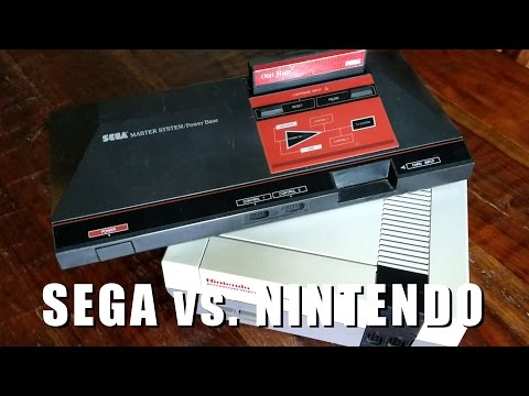 SEGA MASTER SYSTEM vs. NES competitive review by Classic Game Room
