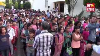 L'hymne national marocain à l'école Ryad Al Maârifa avec Momo sur HIT RADIO - 10/09/15