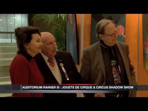 Circus Shadow Show et jouets de cirque à l'Auditorium Rainier III de Monaco