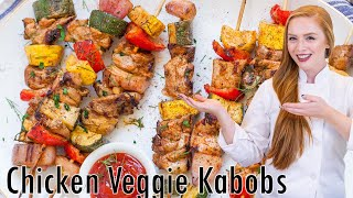 Chicken Veggie Kabobs by Tatyana's Everyday Food