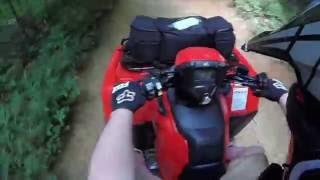 10. ATVTogether * 2016 Honda Foreman Rubicon DCT * Windrock Park 4 * Low Gear