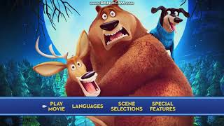 Open Season Scared Silly 2016 DVD Menu Walkthrough