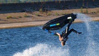 7. Brit Performs Incredible Stunts On Jet Ski