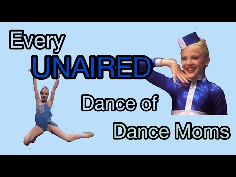 EVERY UNAIRED DANCE OF DANCE MOMS BY SEASON (part 1 of unaired series)