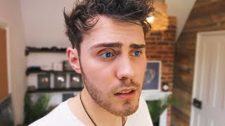 Video TRYING BLUE EYES FOR THE DAY! MP3, 3GP, MP4, WEBM, AVI, FLV Maret 2018