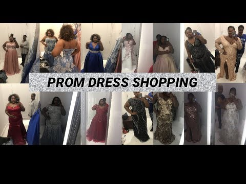 Plus Size Prom Dress Shopping !