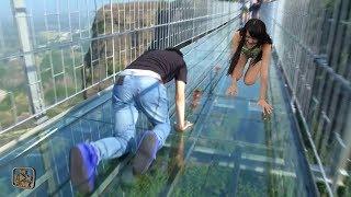 Video Berani Nyebrang Jembatan Ini ??? 10 JEMBATAN PALING BERBAHAYA DAN TEREXTREAM YANG ADA DI DUNIA MP3, 3GP, MP4, WEBM, AVI, FLV Maret 2018