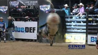 Event Champion: Chase Outlaw rides Gas Pedal for 85 points (PBR)