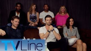 "Andy Swift and ""The Originals"" cast talk the final season at Comic-Con 2017. ► http://bit.ly/TVLineSubscribehttp://tvline.comFollow Us On SocialTwitter http://twitter.com/MichaelAusiello, http://twitter.com/TVLineFacebook http://www.facebook.com/pages/TVLineGoogle+ http://plus.google.com/+TVLine"