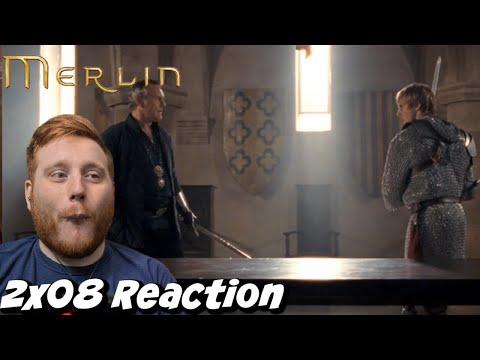 SO INTENSE! Merlin Season 2 Episode 8 Reaction