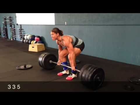 Brandy Richardson 395 Deadlift