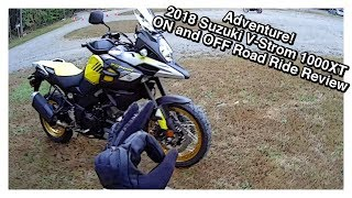 3. Adventure! 2018 Suzuki V Strom 1000XT Ride Review
