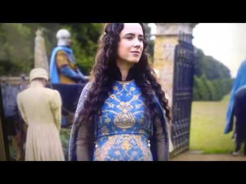 The White Princess 1x06 Catherine gordan and Perkin warbeck leave burgundy