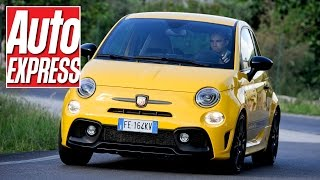 Abarth 595 Competizione review: cheeky pocket rocket gets a nip/tuck by Auto Express
