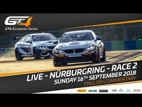 Race 2 - Nurburgring - GT4 European Series 2018 - English