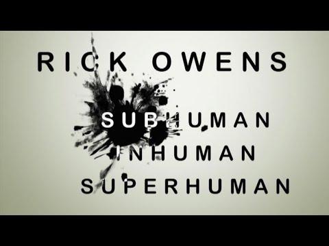 "In mostra: ""Subhuman Inhuman Superhuman"", la moda di Rick Owens"