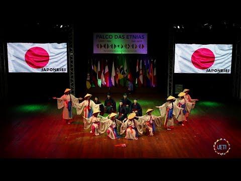 FENADI 2019 - Apresentação da Etnia Japonesa no Palco das Etnias (19-10-2019)