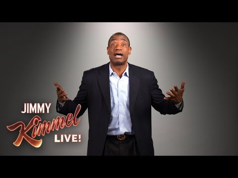 Dikembe Mutombo Does Celebrity Impressions
