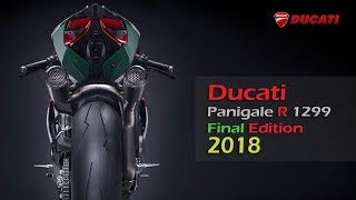 3. Ducati 1299 Panigale R Final Edition 2018 [The Monster]