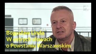 """Bogusław Linda w """"żołnierskich"""" słowach o Powstaniu Warszawskim"""