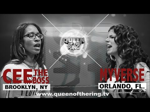 BABS BUNNY & VAGUE | QUEEN OF THE RING | MYVERSE vs CEE THE BOSS