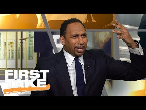 Stephen A. Smith loses it on Baker Mayfield, Lincoln Riley for emotional apology  First Take  ESPN