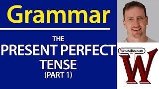 Video IELTS / TOEFL Grammar - Present Perfect Tense Use MP3, 3GP, MP4, WEBM, AVI, FLV Maret 2019